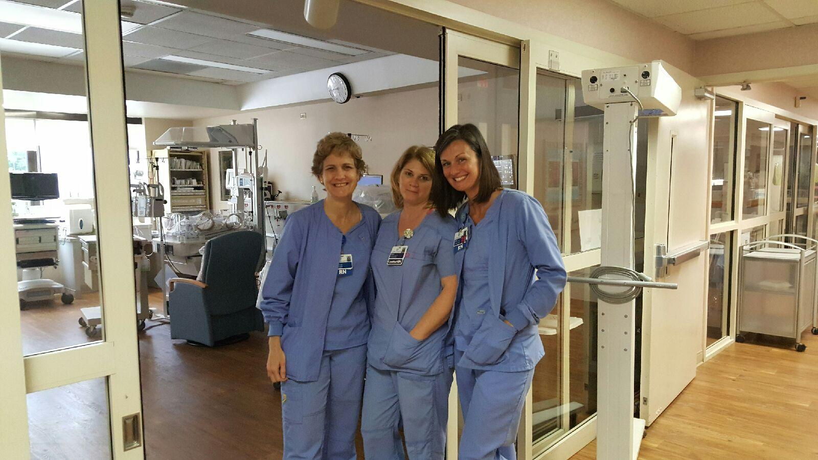 Cone Health NICU staff