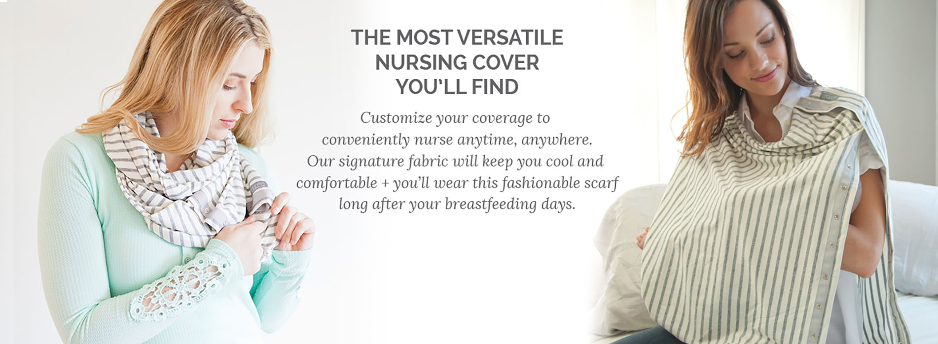 NuRoo Scarf. Nursing Scarf  Nursing Cover