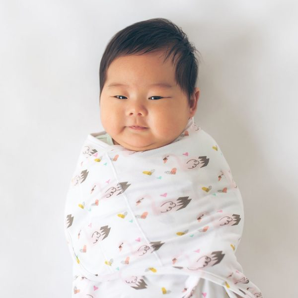 super soft baby swaddle