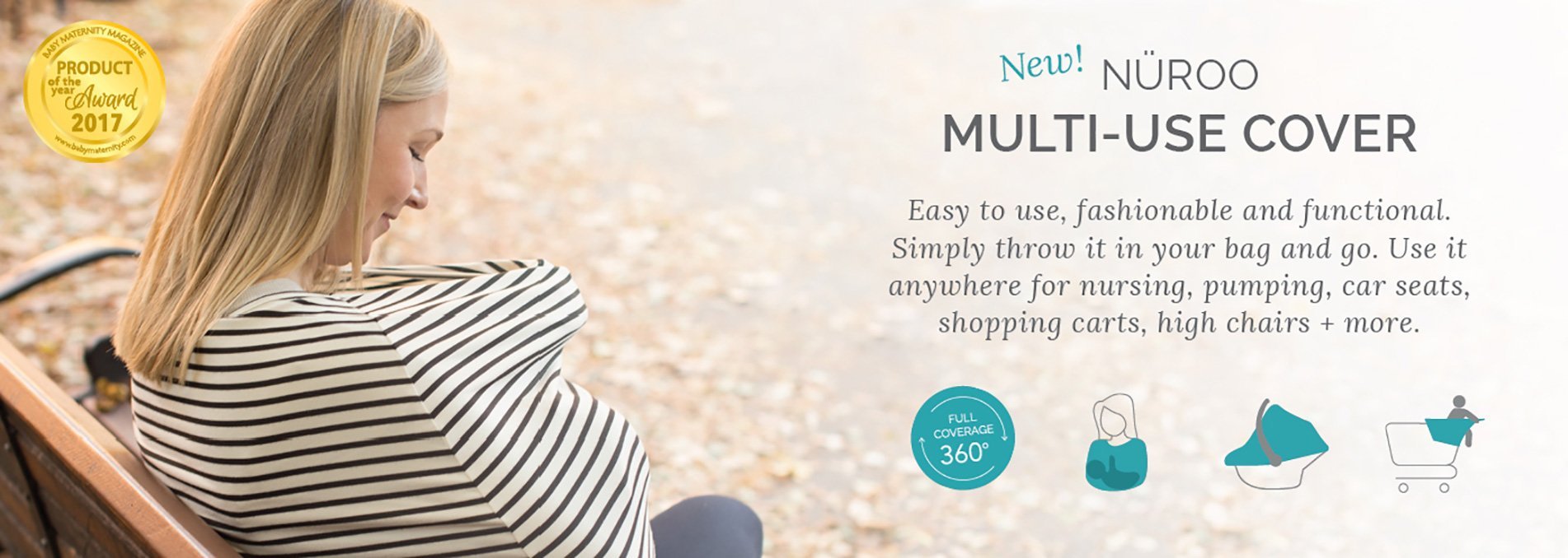 NuRoo MultiUSe Scarf