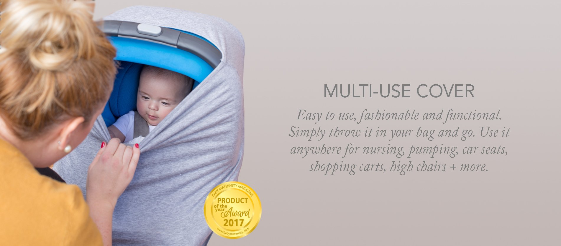 N 252 Roo Newborn Carrier Nursing Scarf Swaddler